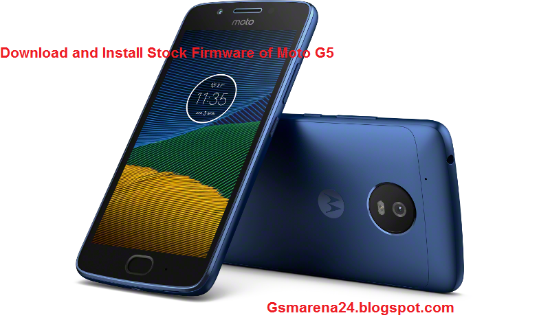 Download and Install Stock Firmware of Moto G5 - Gadgets and