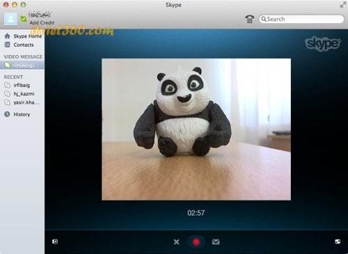 Cách gửi tin nhắn Video Skype cho bạn bè Offline - Hướng dẫn