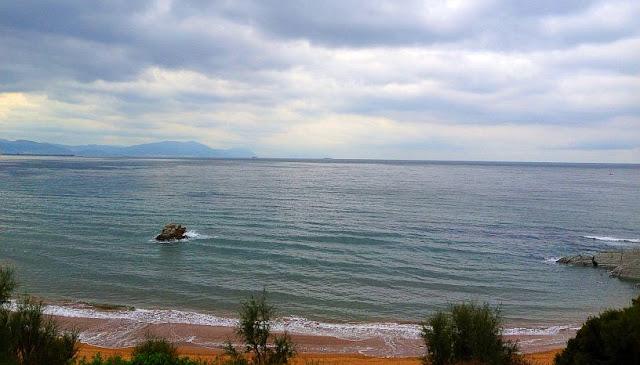 Playa Sopelana en Octubre