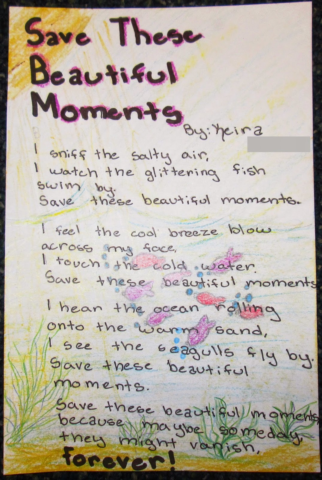 Lafayette School Poetry On Parade Celebrating Earth Day