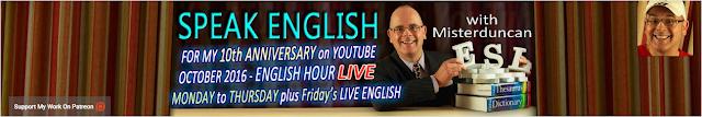 Speak English With Misterduncan