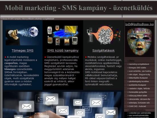 sms kampány - tömeges üzenet