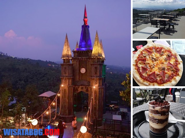Dago Bakery Punclut, Wisata Kuliner dengan Ikon Bangunan Kastil