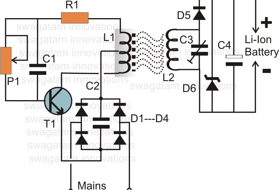 How to Make an Inductive Li-Ion Battery Charger Circuit