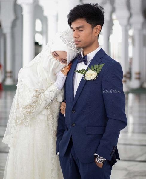 Foto Pernikahan Muzammil dan Sonya