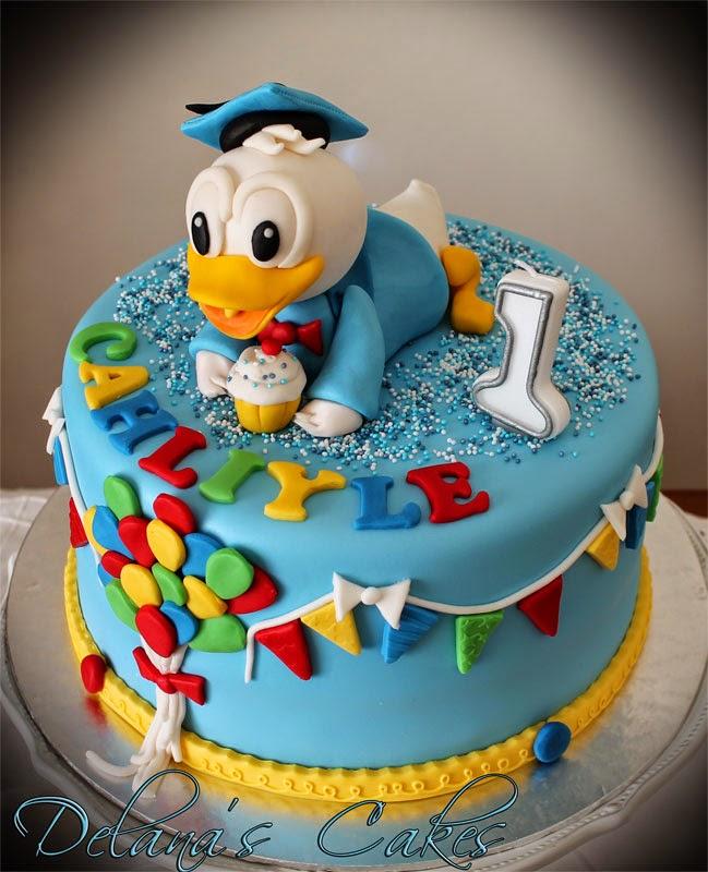 Delana S Cakes Donald Duck Cake