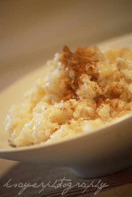 Stovetop Rice Pudding