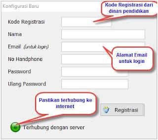 Cara registrasi