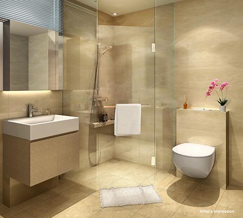 The Wisteria Bathroom