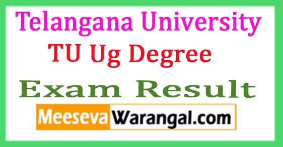 Telangana University Ug Degree Supply Results 2017