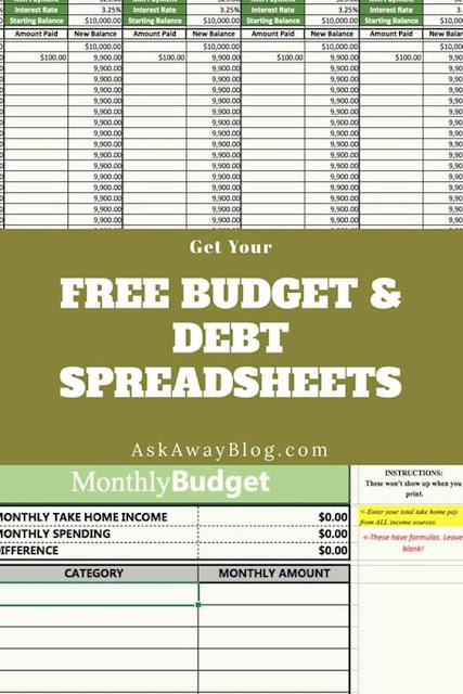 Free Budget Template Spreadsheet
