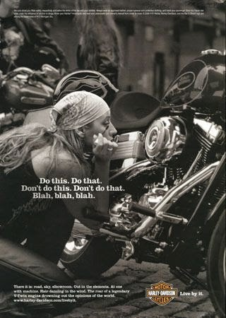 Harley Davidson - Do This, Do That...