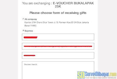 Mengisi formulir identitas sesuai dengan data pada profile Nusaresearch anda | SurveiDibayar.com