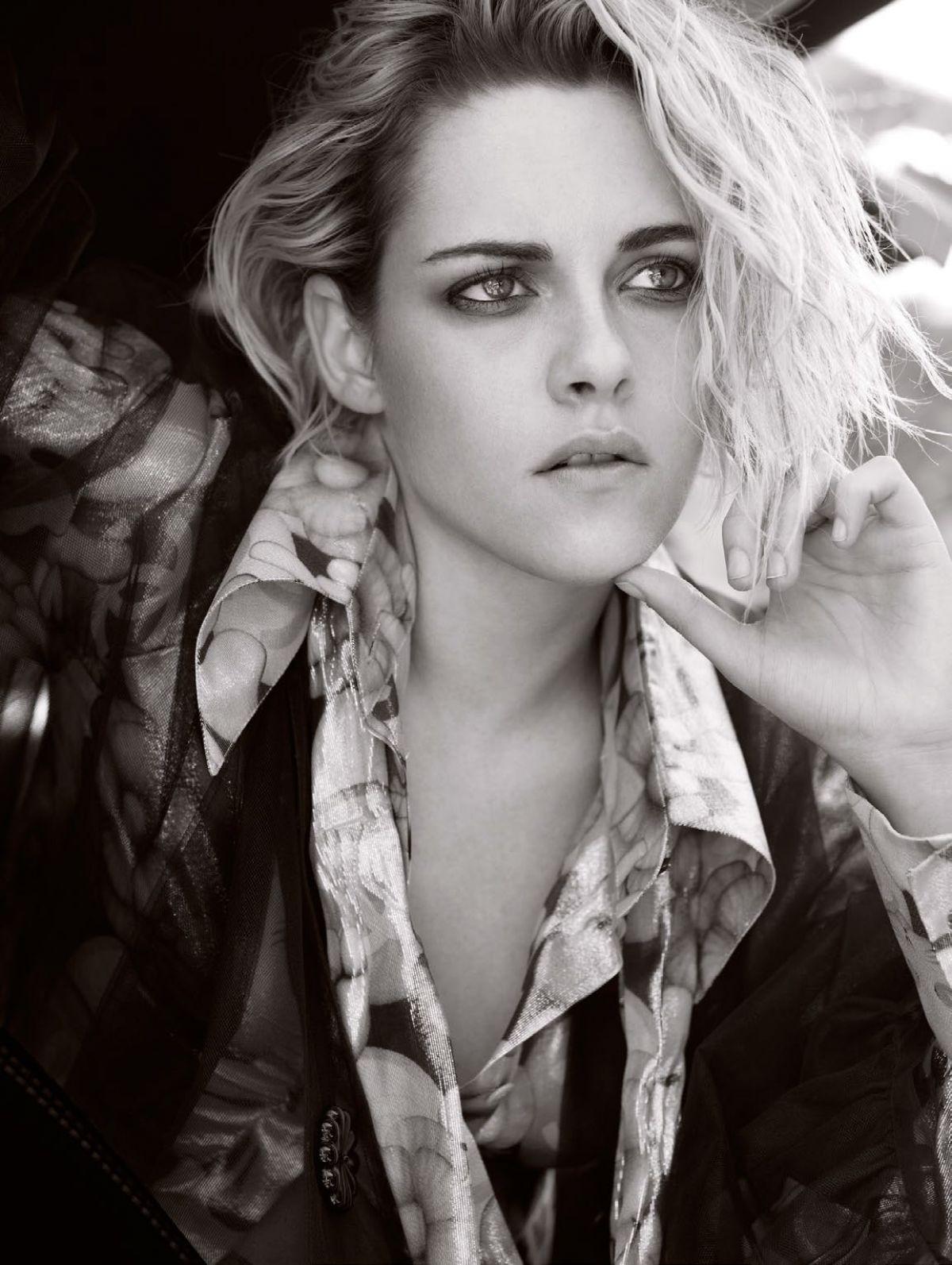 Kristen Stewart Photo Shoot for Elle Magazine UK September 2016