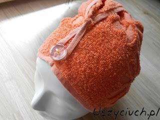 Turban z ręcznika