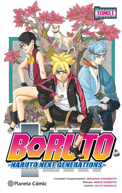 "Reseña de ""Boruto: Naruto Next Generations"" vol.1 de Ukyô Kodachi y Mikie Ikemoto - Planeta Cómic"