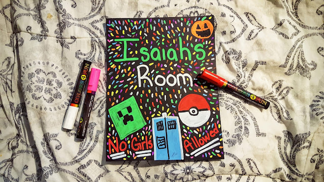 Inexpensive Chalkboard Signs with Color4Fun Markers by March to December