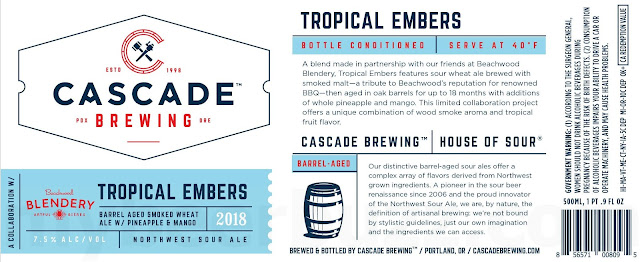 Cascade & Beachwood Blendery Collaborate On Tropical Embers