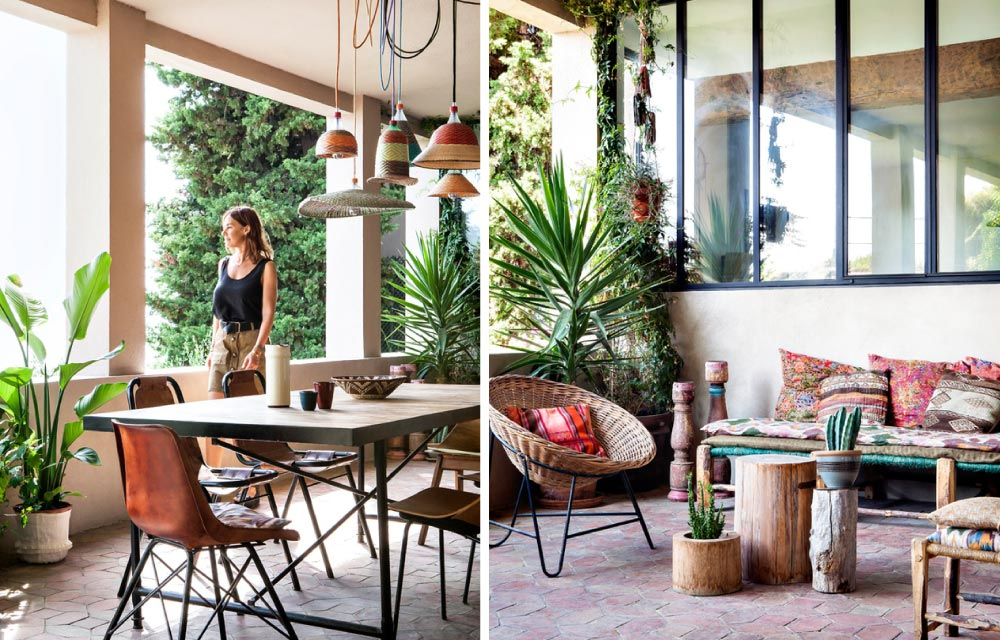 Una casa in perfetto stile etnico e bohemien blog di for Stili casa arredamento