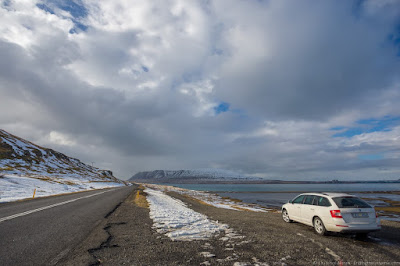 Car Road Iceland scenery_by_Laurence Norah