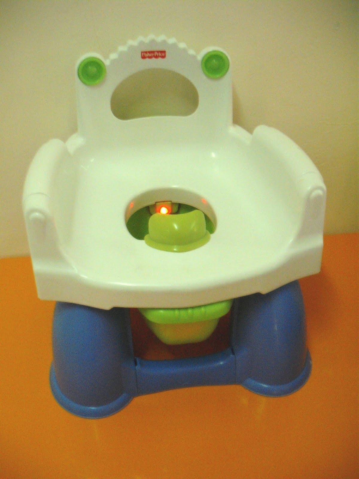 Singing Potty Chair Fuzzy Office Jualan Barangan Bayi Dan Kanak Preloved Fisher