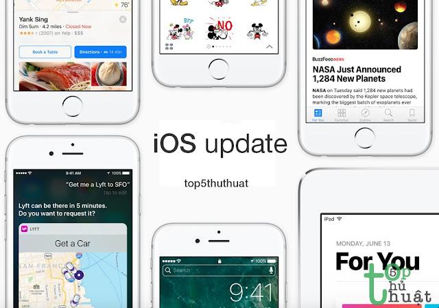 Nâng cấp iOS