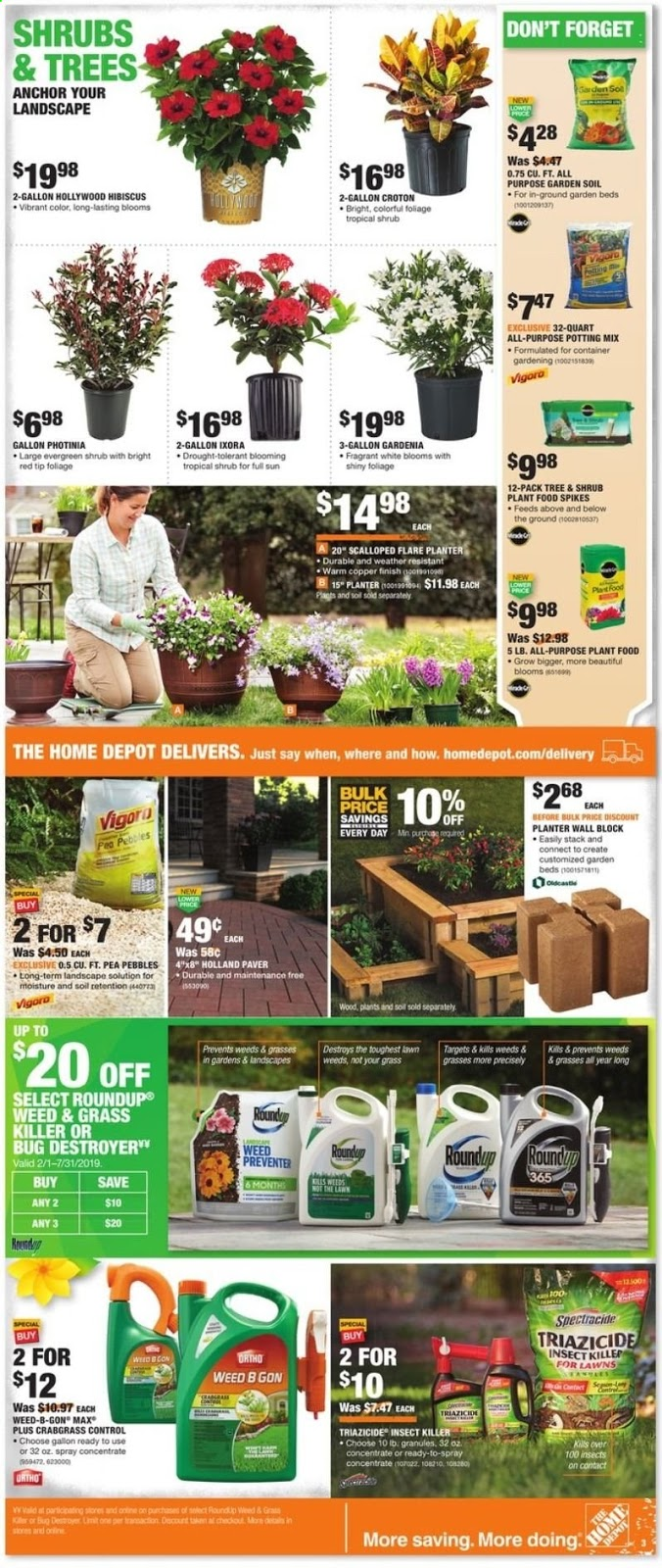 Home Depot Weekly Ad April 18 24 2019 Coupons And Deals