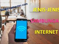 Sebutkan Jenis-Jenis Sambungan Internet?