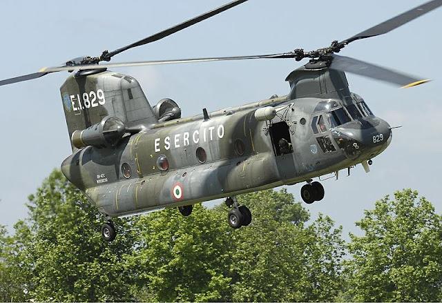 Gambar 51. Foto Helikopter Angkut Militer Boeing CH-47 Chinook