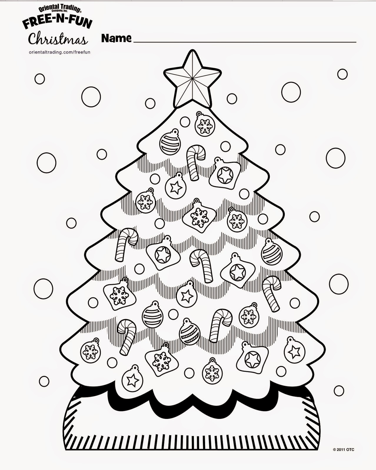 Coloring Sheets From FREE N FUN Christmas