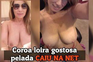 Coroa brasileira nua em fotos caseiras