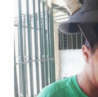 IMAGEM FORTE! (VÍDEO)  detento tem peixeira cravada na cabeça, durante briga em presídio