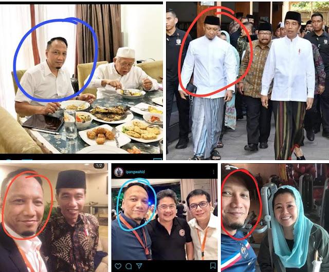 Diduga Dalang 'Indonesia Barokah', Kedekatan Ipang Wahid dengan Jokowi-Ma'ruf Terungkap