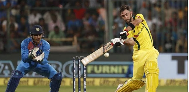 aggressive innings, Maxwell The second defeat in the T-T20  India's