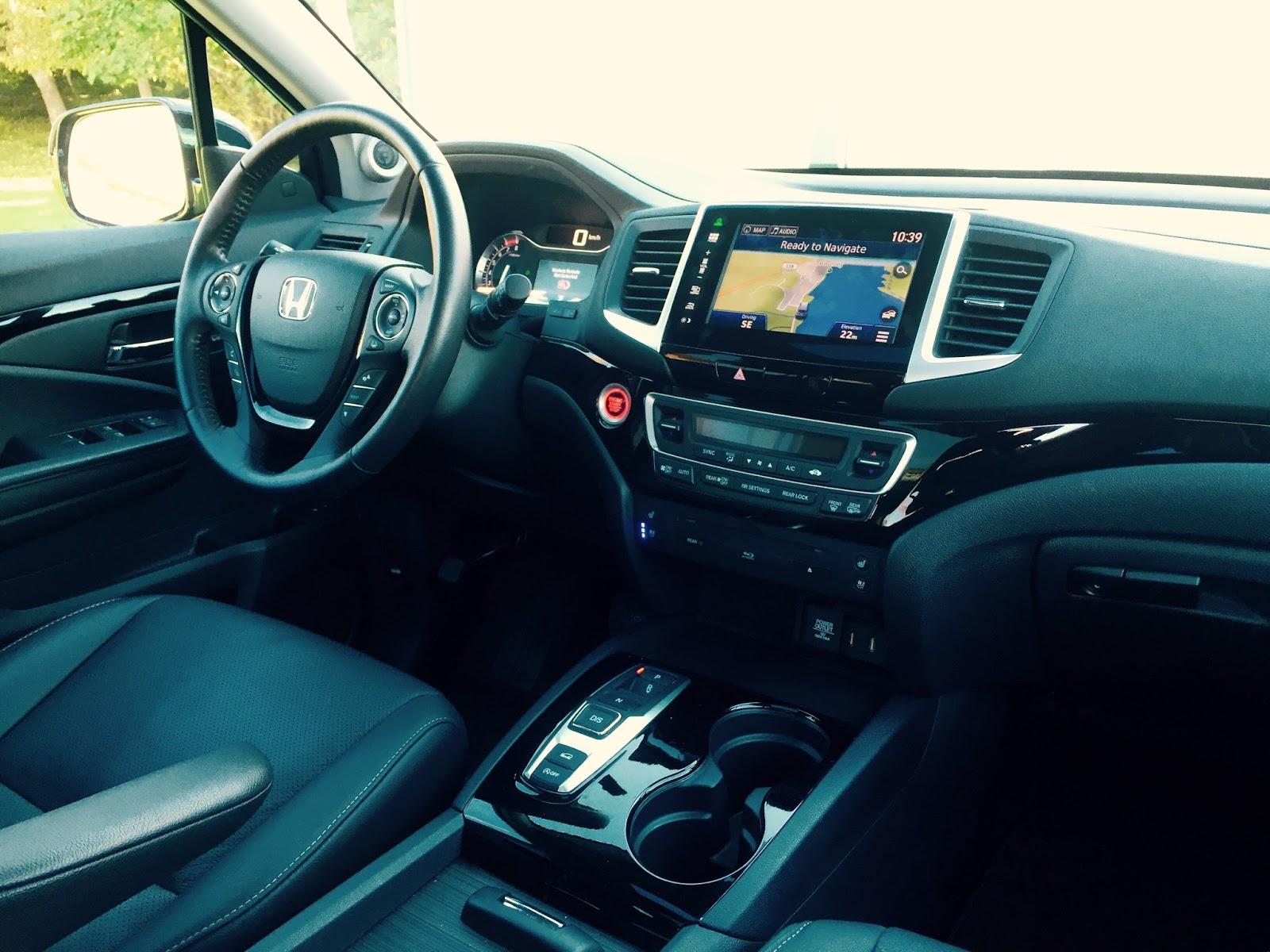 Comparison test 2016 honda pilot touring vs 2015 honda - Honda pilot touring interior 2017 ...