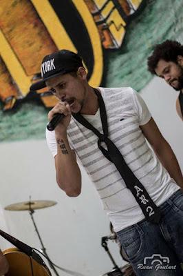 O rapper Ivson Lima, conhecido como JR Mc, fundador do AR2 Atitude Responsa Rap. Foto: acervo Ruan Goulart