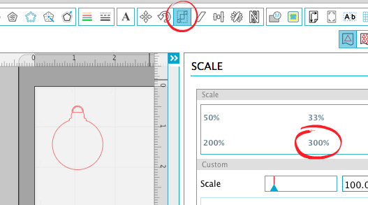 silhouette studio resize image, sillhouette studio scale design, silhouette cameo beginner tutorials
