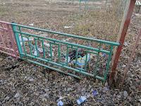 Мусор на улице Герасименко Астрахань