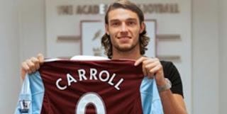 Berita Bola Terimakasih Andy Carroll