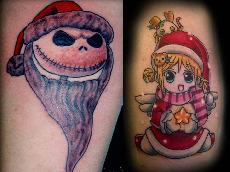 Top Tattoos Pictures: Christmas Tattoos