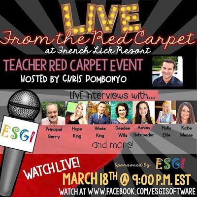 Teachers Live from the Red Carpet