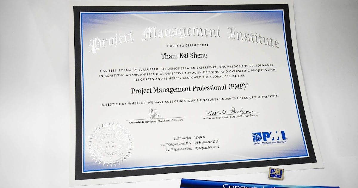 pmi's project management professional pmp credential