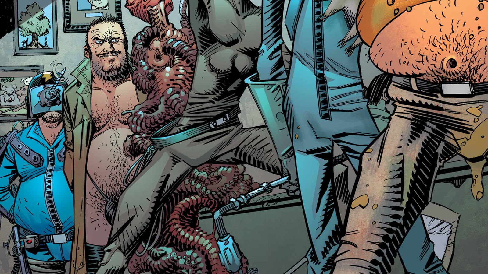 Weird Science DC Comics: All-Star Section Eight #4 Review