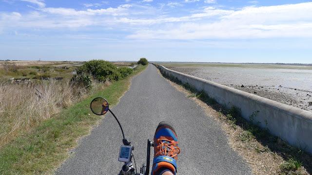 De Paris à la Rochelle en vélo couché, Ile de Ré