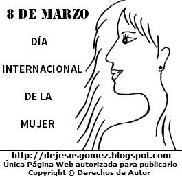 Imagenes Para Colorear Del Dia Internacional De La Mujer