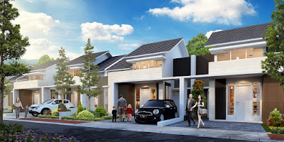 Model Rumah ORCHID 1A, 39/120 Citra Indah City