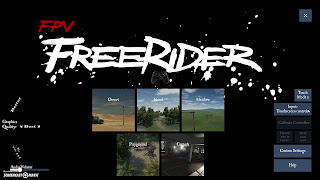 Bermain Simulator Quad Racer FVP Freerider