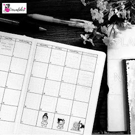 Contoh Monthly Log pad Bujo