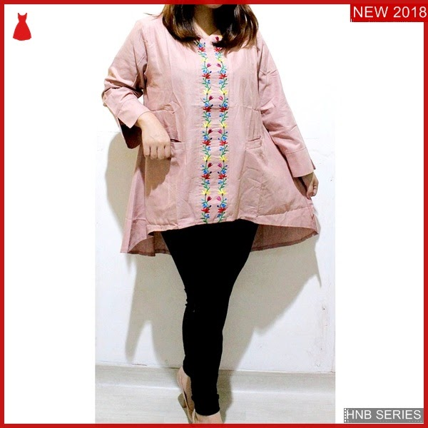 HNB193 Model Atasan Ukuran Besar Jumbo Blouse Big BMG Shop