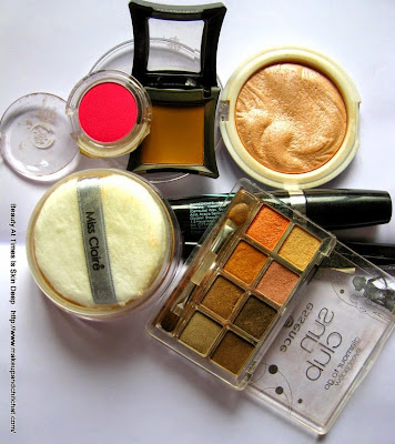 products for fresh faced makeup